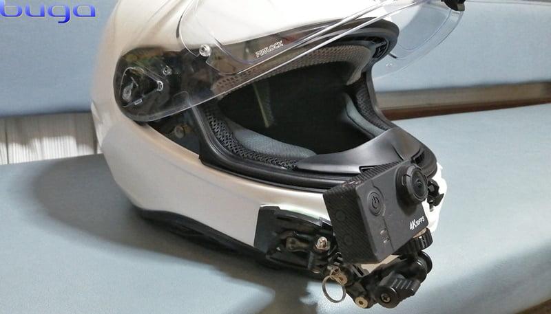 OGK Kabuto AEROBLADE-5 + Actioncam